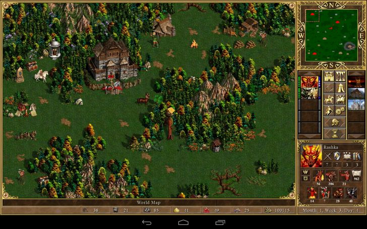 Heroes of might magic III HD 4pda